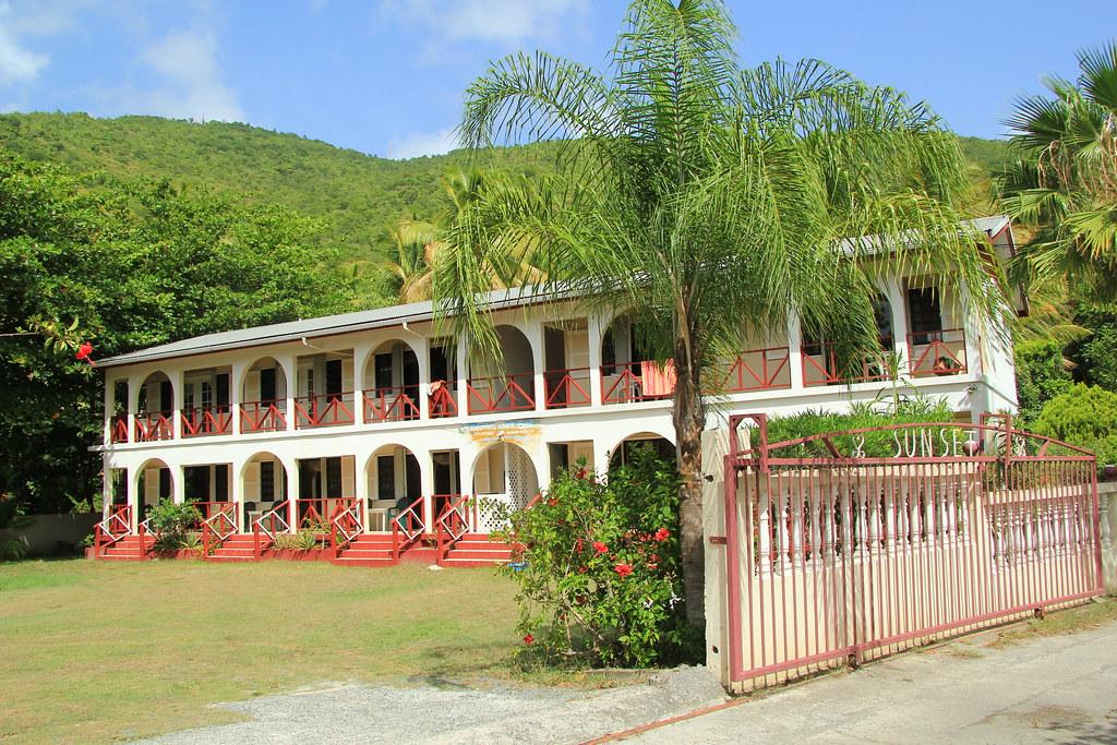 Cane Garden Bay, Tortola/ Sunset Apartments | A walk through… | Flickr