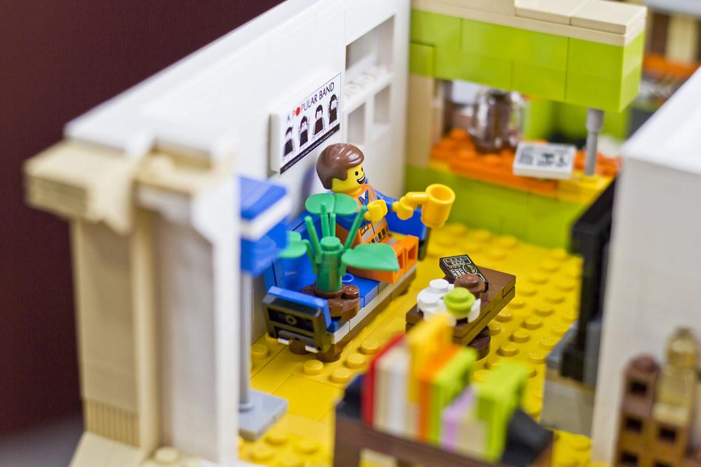 Good ... The LEGO Movie: Emmetu0027s Apartment | By Doug Bowker