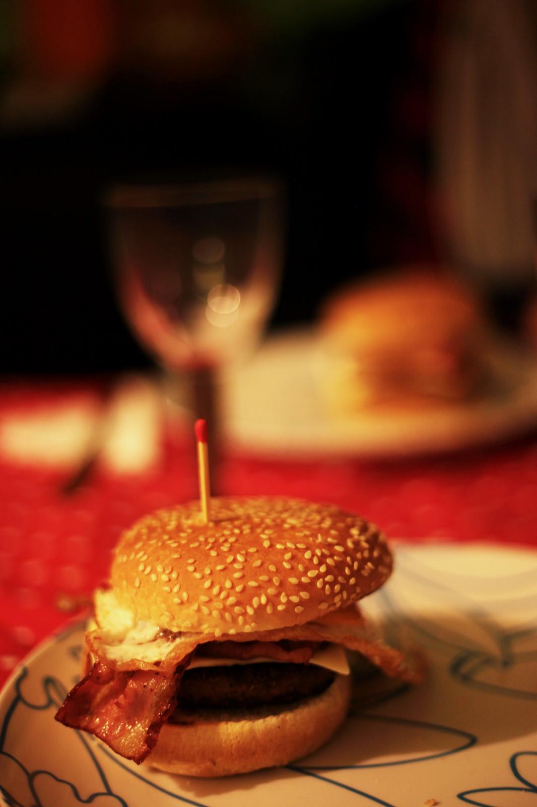 hamburgueres em casa do bolas