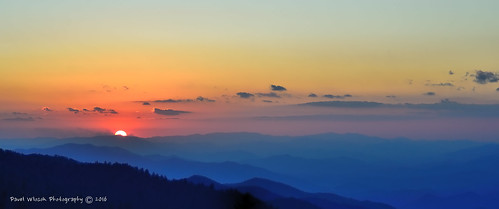 Great Smoky Mountains Sunset_B | by digiartfoto