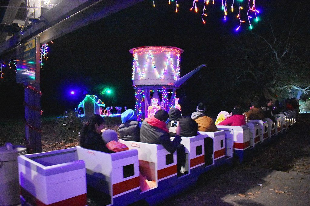 ... The Griffith Park U0026 Southern Railroad Holiday Light Festival Train Ride  | By Michael Locke