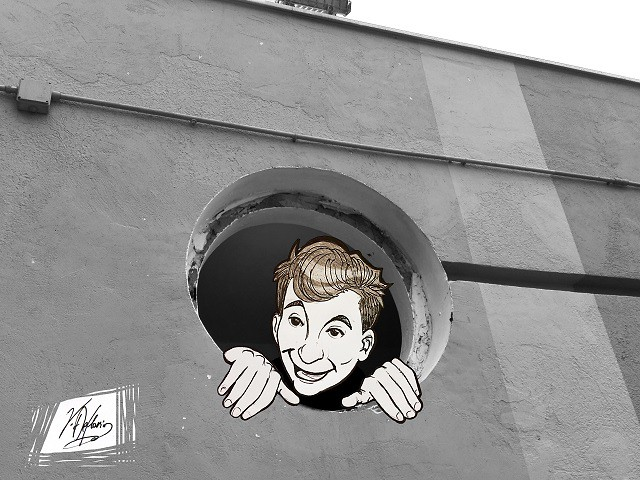 Noicattaro. Vignetta area antistante spogliatoi parco comunale intero