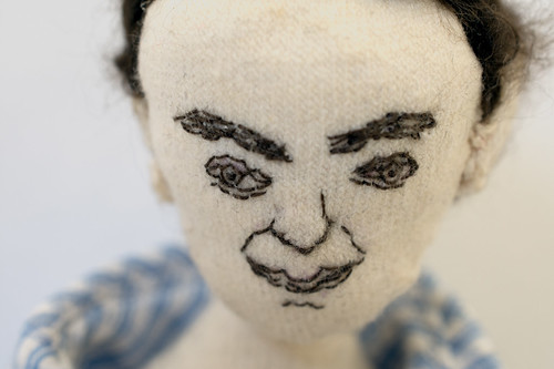 Embroidery doll face | by netamir
