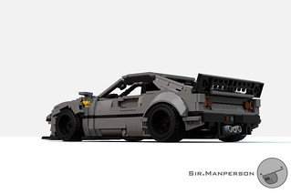 Ferrari 288 GTO widebody Stealthy - 13/15-wide - Lego