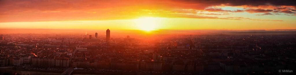 Lever de soleil lyon - Heure lever coucher du soleil ...