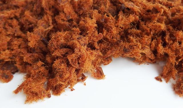Apenhaar / abon / meat floss