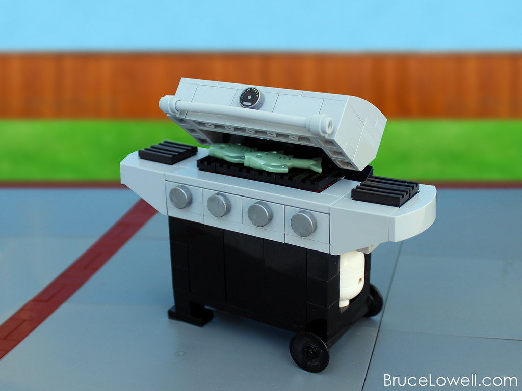 Lego Barbecue Grill Summer Is Well Underway And Having Be Flickr