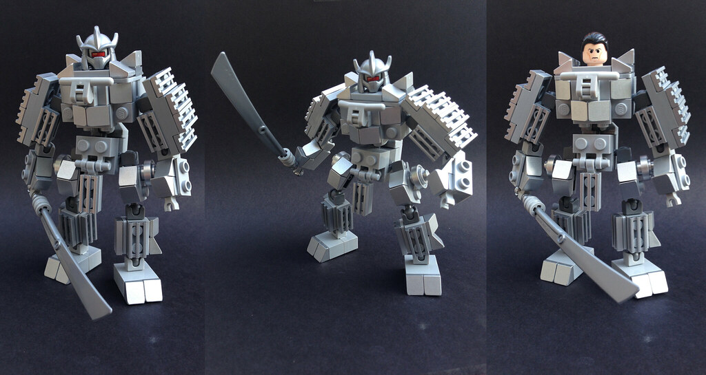 Lego Marvel: Silver Samurai | I'm super happy with how this … | Flickr