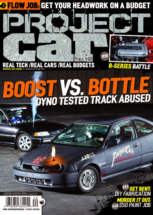 Cover Project Car Magazine A Shot I Made For The Cover O Flickr