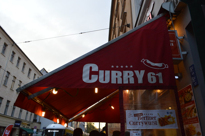 this is a photo of a currywurst shop in berlin
