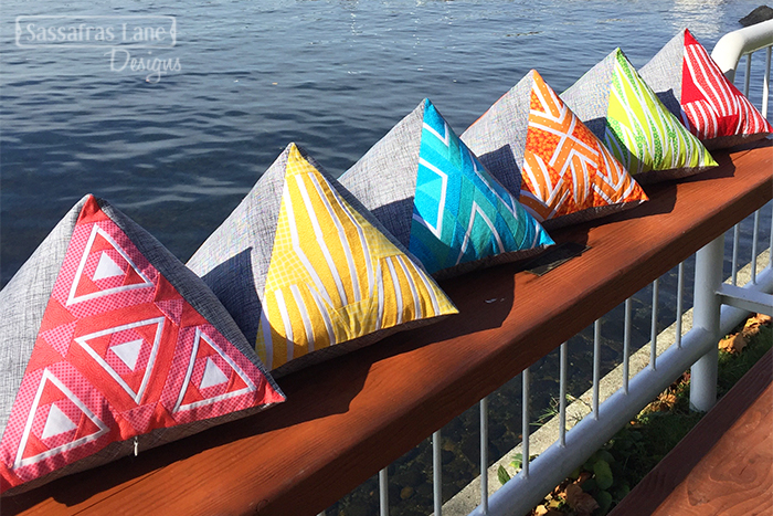 Paradox Point Pyramid Pillows