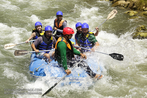 Whitewater rafting | by forum.linvoyage.com