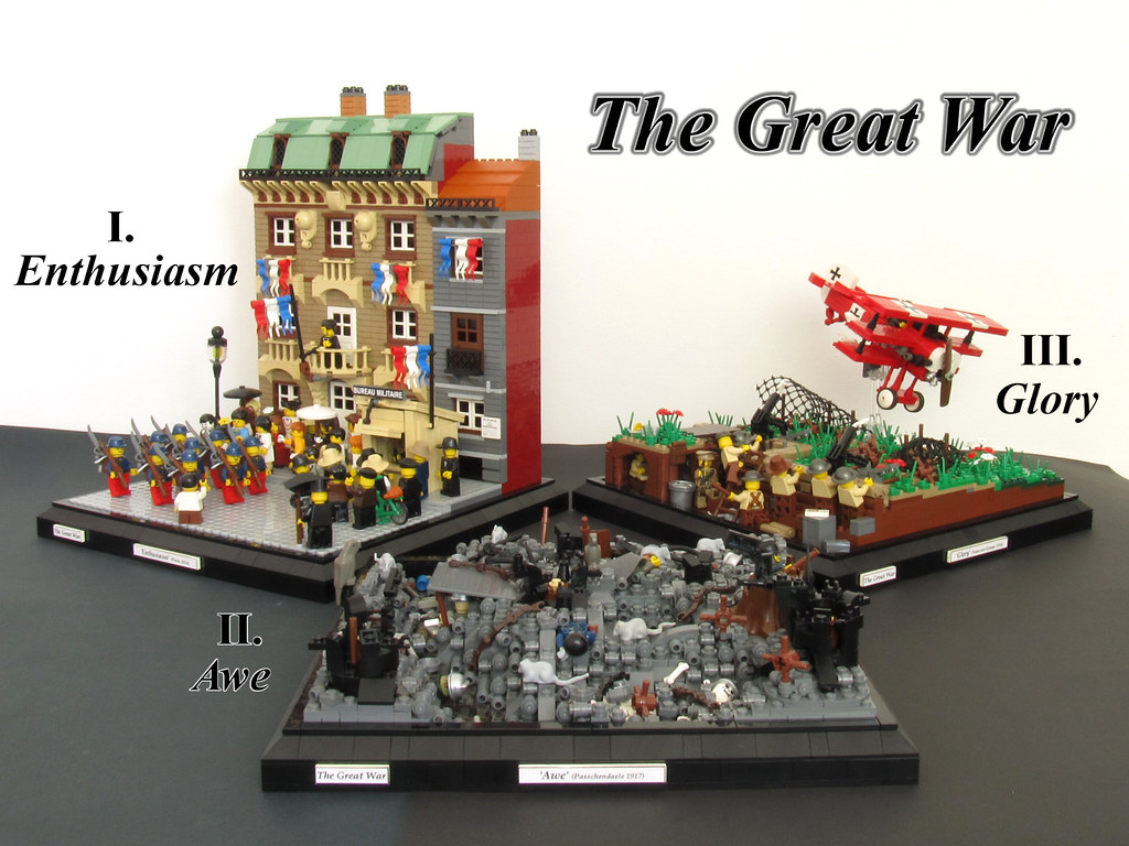 The great war flickr for Siege lego france