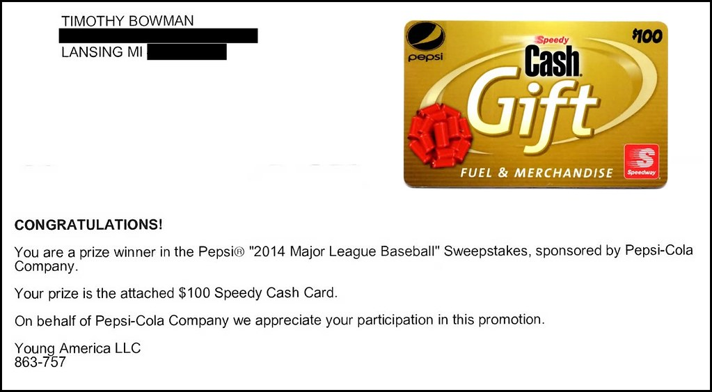 Speedway Gift Card Contest Winner Letter Epson Mfp Image Timothy