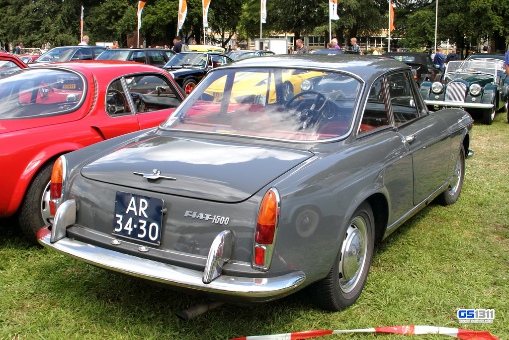 1963 1967 Fiat 1500 Coup The Fiat 1300 And Fiat 1500 Ar Flickr