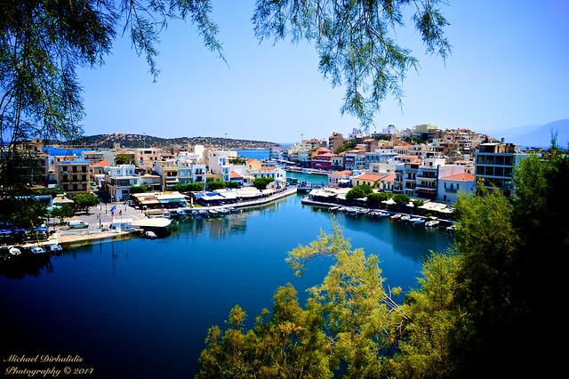 Agios Nikolaos, Lasithi, Crete, Voulismeni Lake