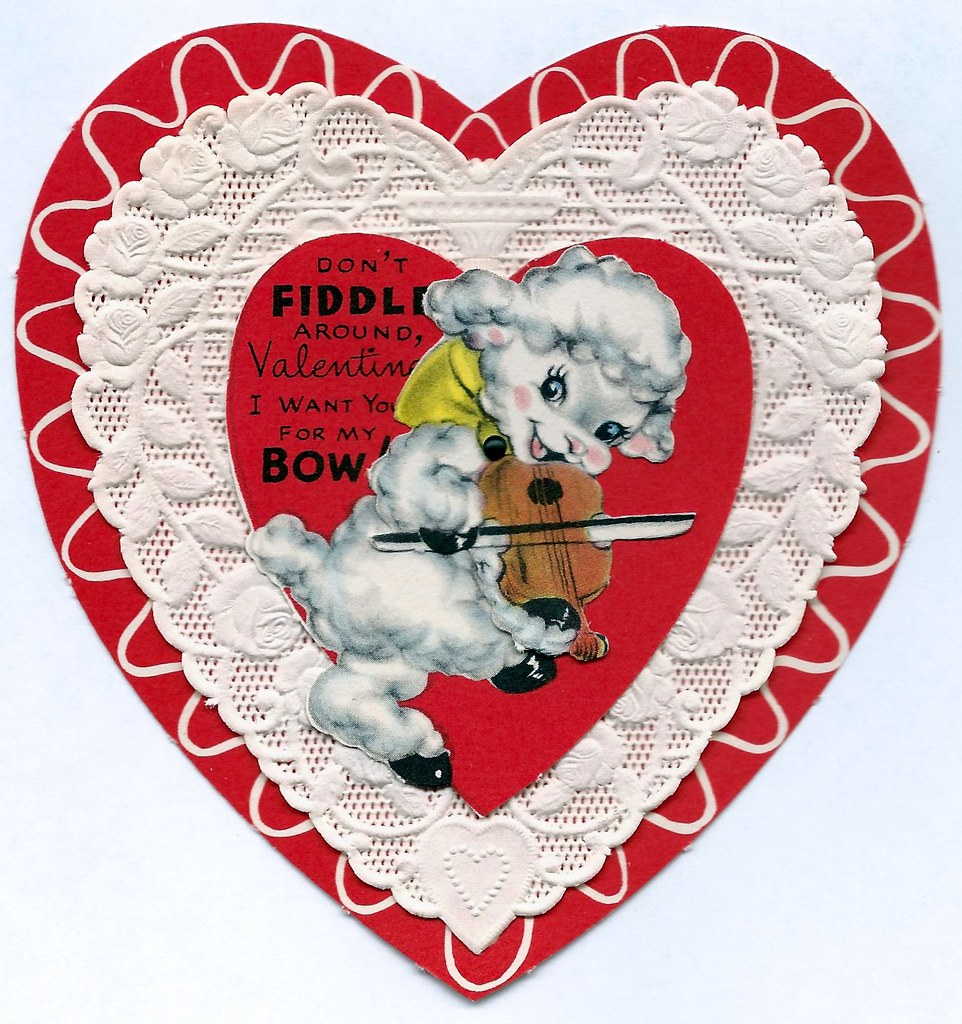 Vintage Valentine Day Greeting Card By American Greetings Flickr