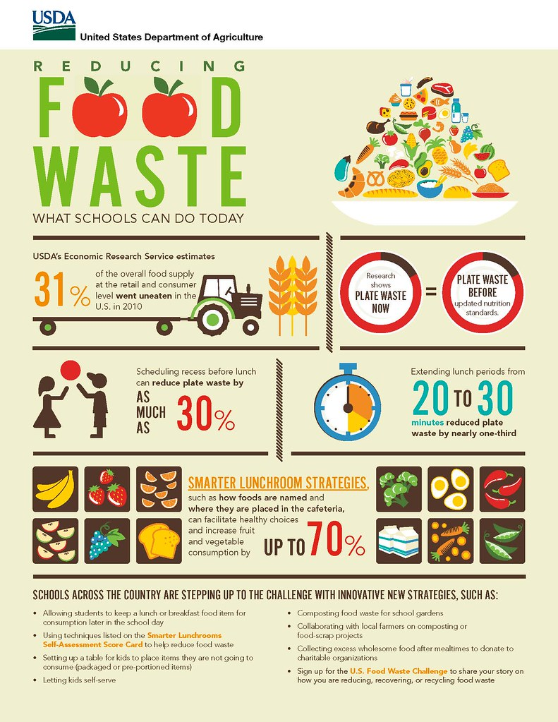 Image result for food waste infographic