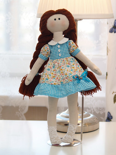 Textile doll | by *Aloe*