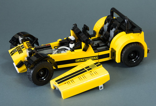 lego set 21307 caterham seven 620r mod 16 i made my mod b flickr. Black Bedroom Furniture Sets. Home Design Ideas
