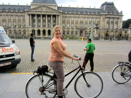 Biking by the Royal Palace | by rueparadis