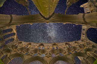 Rievaulx Abbey and the MilkyWay | by grelf.net