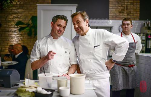 Gavin Kaysen and Daniel Boulud