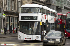 Wrightbus NRM NBFL - LTZ 1213 - LT213 - YouTube DT - Victoria 38 - Arriva London - London - 161203 - Steven Gray - IMG_9004