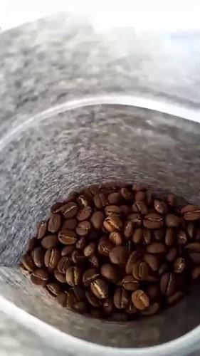 bagging coffee