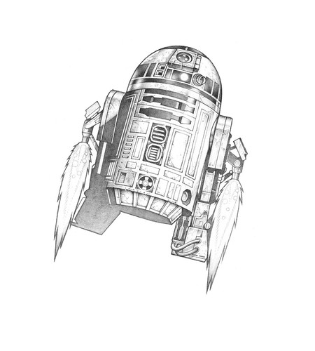 SutfinR2-D2_Pencil_01 | by Mike Sutfin