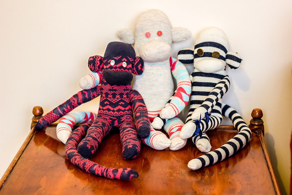 How To Make A Sock Monkey Instructions Sally Flickr