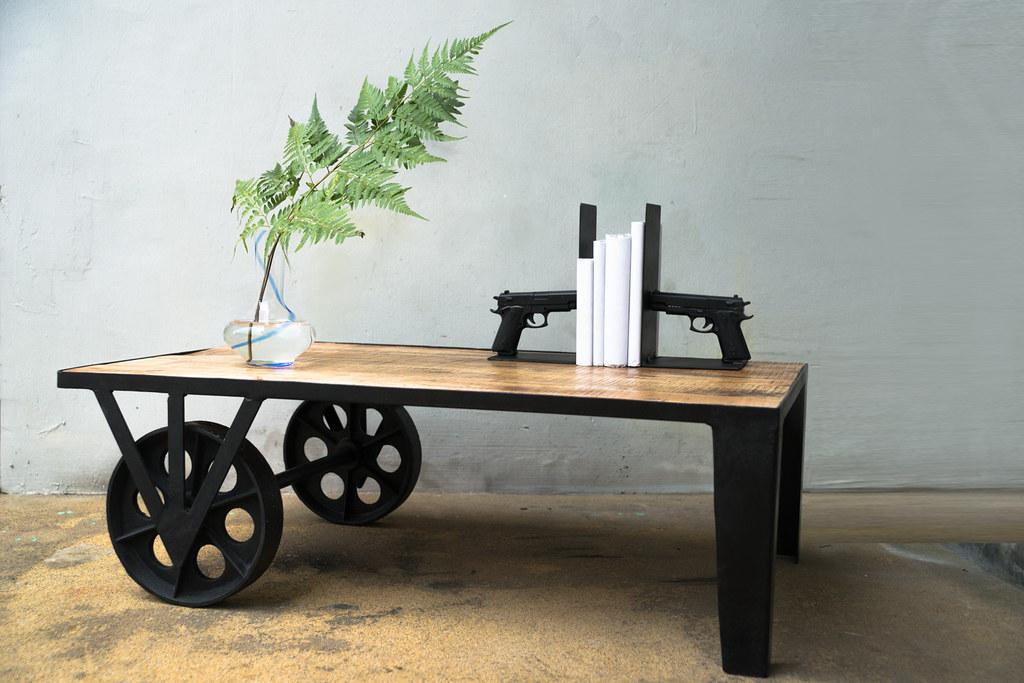 GONE Wheelbarrow Coffee Table We Customized This Design Flickr - Wheelbarrow coffee table