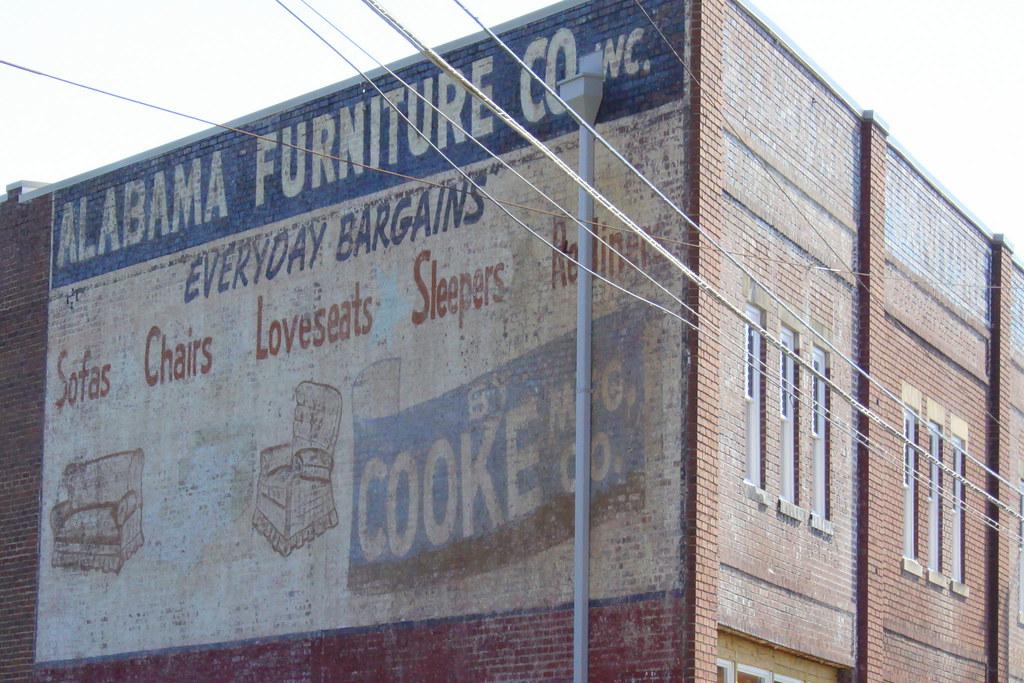 ... Alabama Furniture Co. Faded Mural   Chattanooga   By SeeMidTN.com (aka  Brent