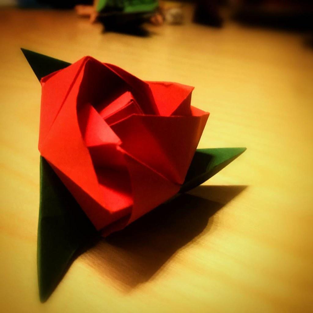Origami Rose Cube Origami Senza Frontiere Daniele Adami Flickr