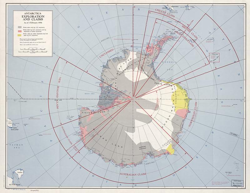 1956 Antarctica Claims