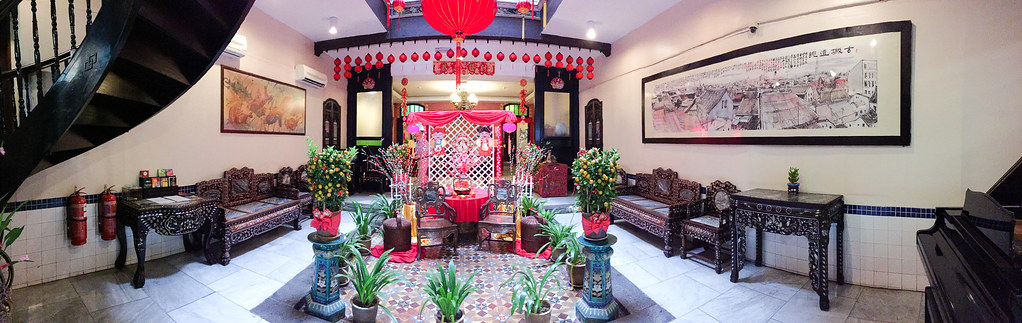 Lobby of Hotel Puri Melaka