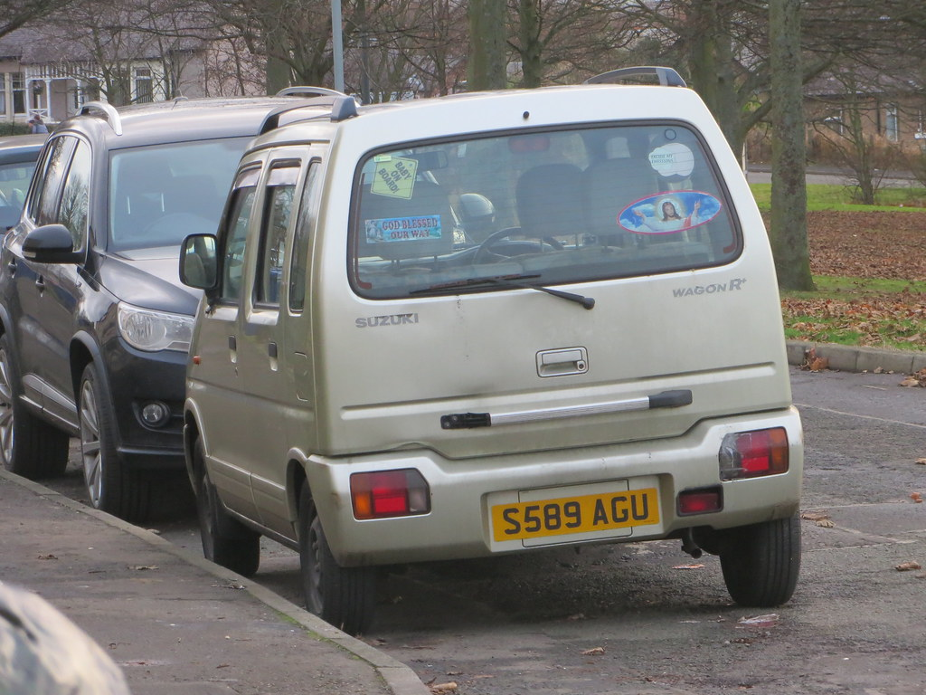 1999 Suzuki Wagon R Gl Alan Gold Flickr