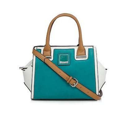 Principles by Ben de Lisi Green colour block grab bag