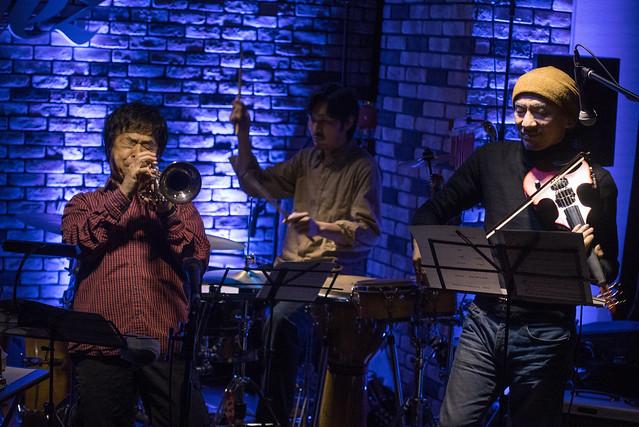 Satoko Fujii Quartet live at Cortez, Mito (Japan), 22 Dec 2016 -00995