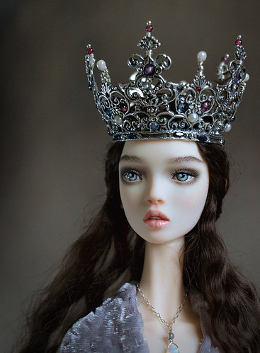Hand Painted Resin Dolls