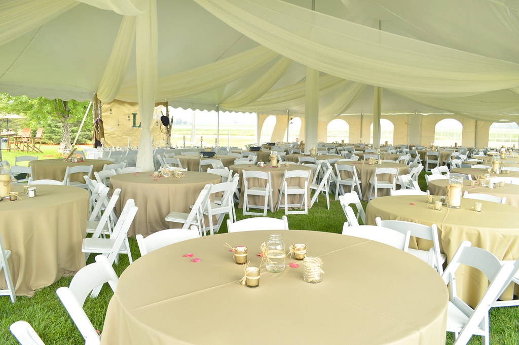 Private Residence Country Theme Wedding Tent Aug 9 201 Flickr