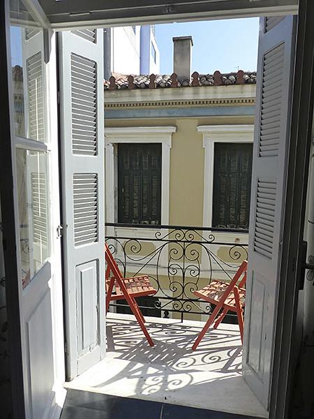 balcon athènes