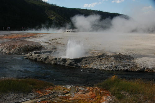Cliff Geyser erupting (30 August 2011) 07 | by James St. John