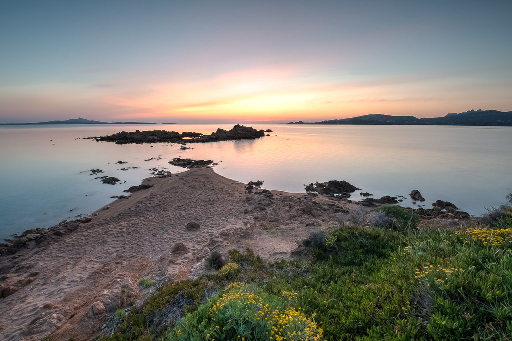 Sunrise on the Costa Smeralda