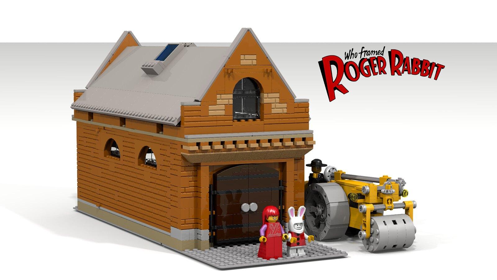 lego ideas who framed roger rabbit flickr
