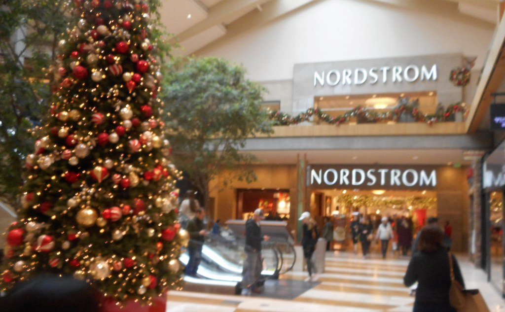 bellevue square mall decked for the holiday nordstrom bellevue wa by patricksmercy - Nordstrom Christmas Eve Hours