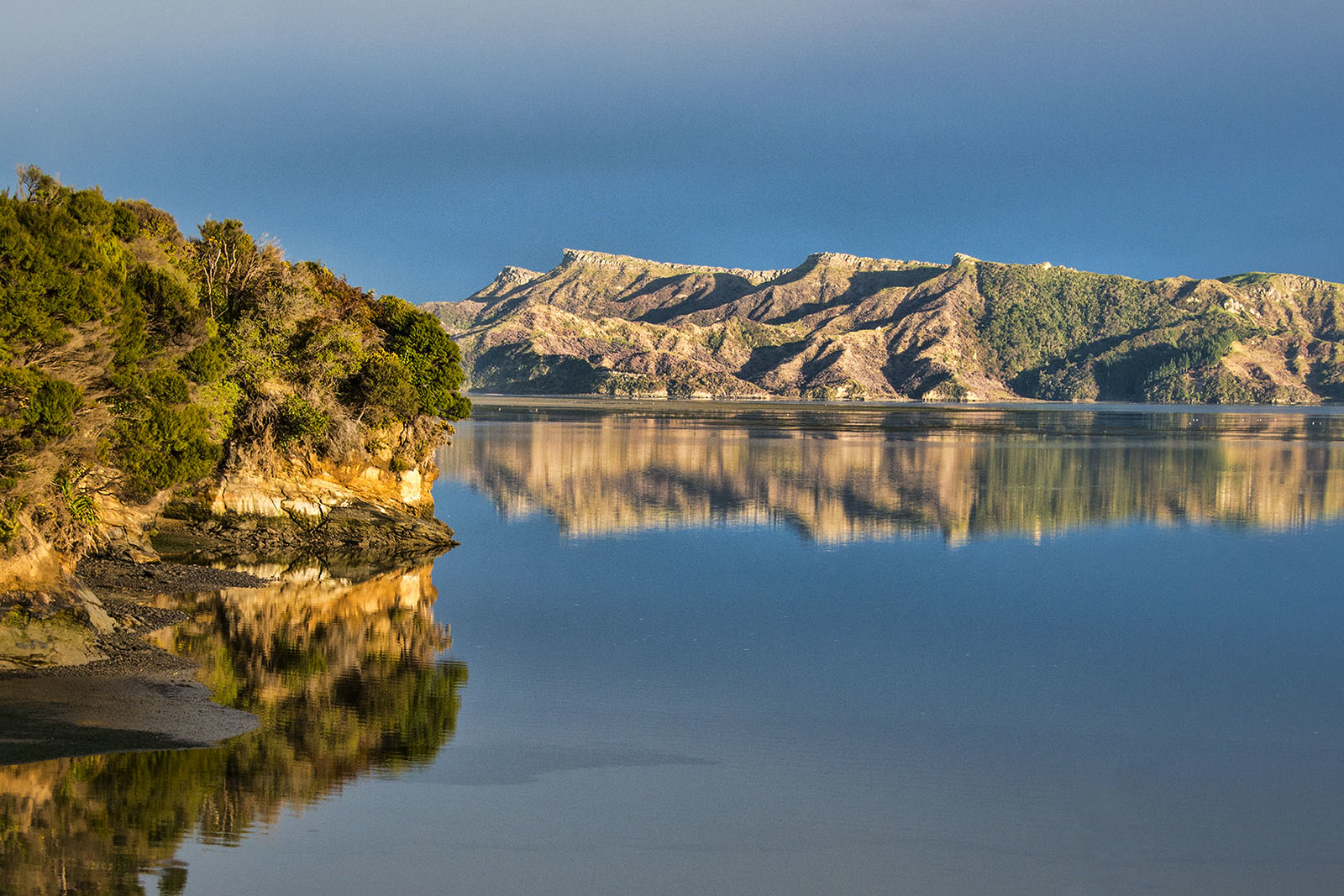 Reflections, Whanganui Inlet