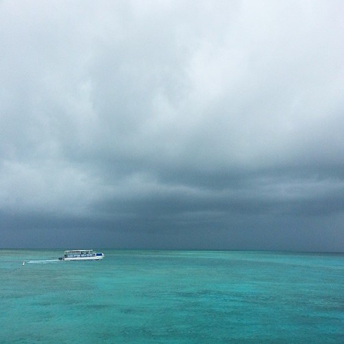 Things became a wee bit ominous in the land of turkey and cake. #Boatcation | by mooshinindy