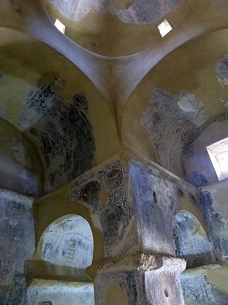 structure de l'église georgios diasoritis