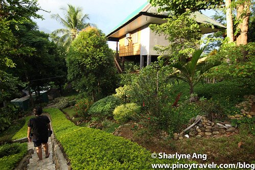 Rooms and Pathway at Sanctuary Garden Resort in Sibuyan | by rockerfem